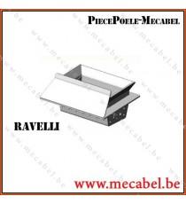 Brasier pour poele à pellets insert RCV1000 2015 - RAVELLI