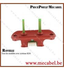 Débimètre + support - RAVELLI