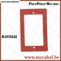 Joint silicone pour trappes d'inspection 130 x 80 mm - RAVELLI