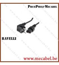 Câble Alimentation - RAVELLI