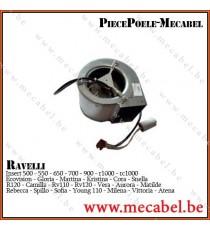 Ventilateur + condensateur centrifuge - RAVELLI