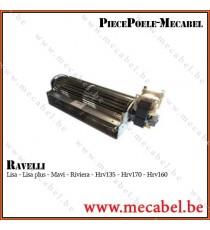 Ventilateur ambiance QLZ06-2400 - RAVELLI