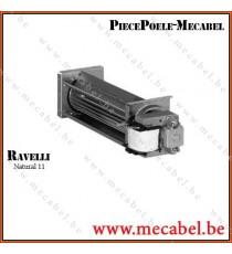 Ventilateur ambiance QL4/0015-2112 Côté droit - RAVELLI
