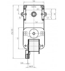 Motoréducteur KENTA 1,5 RPM