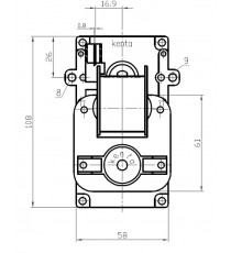 Motoréducteur KENTA 2,5 RPM