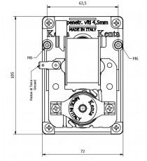 Motoréducteur KENTA 4 RPM