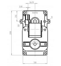 Motoréducteur KENTA 8,5 RPM