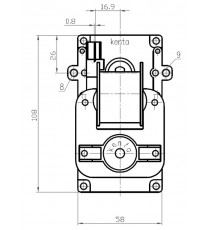 Motoréducteur KENTA 12 RPM