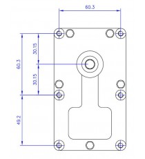 Motoréducteur MELLOR 3,3 RPM, série T3 alimentation 220VCA