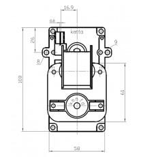 Motoréducteur KENTA 2 RPM