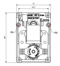 Motoréducteur KENTA 1 RPM