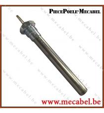 """Résistance diamètre 16 mm avec raccord fileté 1/2"""" - Longueur 152 mm"""