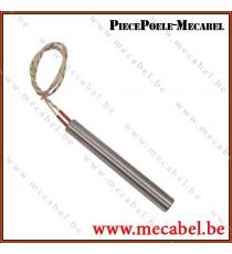 Résistance diamètre 12,7 mm sans raccord - Longueur 101 mm