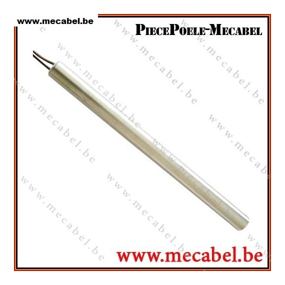 r/éf. HT62703 R/ésistance bougie allumage po/êle /à granul/és 350 W longue 160 mm diam/ètre 12,5 mm MCZ Royal Palazzetti Oimpia Splendid Pellbox Clam Thermorossi