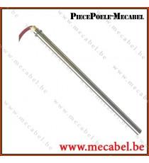 Résistance diamètre 12,5 mm avec bride - Longueur 280 mm