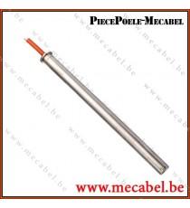 Résistance diamètre 12,5 mm avec bride - Longueur 182 mm