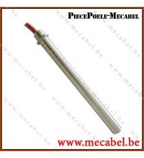Résistance diamètre 9,9 mm avec bride - Longueur 160 mm