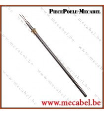 Résistance diamètre 10 mm avec raccord fileté de M14x1,5 - Longueur 334 mm