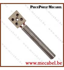 Bougie sans raccord Diamètre 12,5 mm Longueur 80 mm