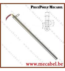 Bougie avec bride Diamètre 12,5 mm Longueur 280 mm