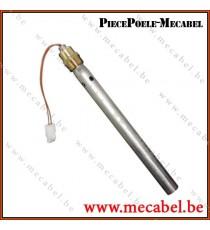 Kit bougie d'allumage avec tube de canalisation d'air - Diamètre 18 mm Longueur 190 mm