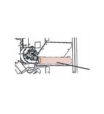 Kit canalisation 60mm supérieure ou latérale Nobis A10C Light