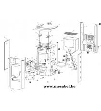 Poêle à pellet AMALFI - Ravelli