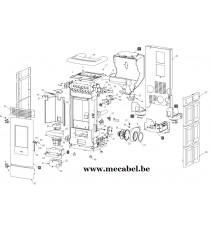 Poêle à pellet ATENA - Ravelli