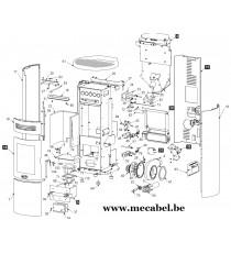 Poêle à pellet DUAL 7 - Ravelli