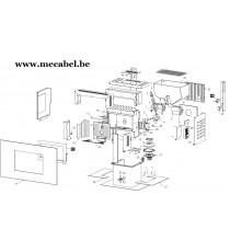 Poêle à pellet Ecovision - Ravelli