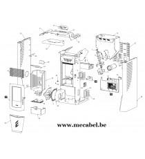 Poêle à pellet FRANCESCA - Ravelli