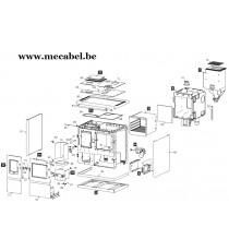 Poêle à pellet MIA 90 - Ravelli