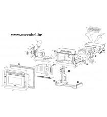Poêle à pellet R1000 - Ravelli
