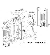 Poêle à pellet VERONICA - Ravelli