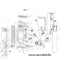 Poêle à pellet WHISPER 7 - Ravelli