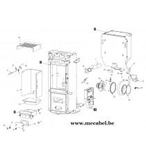 Poêle à pellet R EVOLUTION 9 - Ravelli
