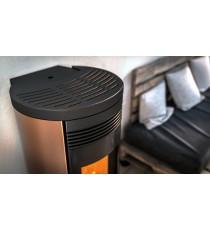 Poêle à pellet NOBIS A11/A13 V Round Top Sortie Coaxial