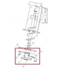 Plaque motoréducteur